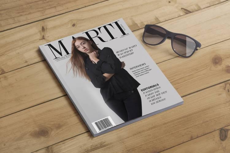 Leila auf dem Cover der 4. Ausgabe!